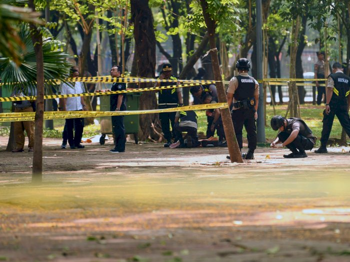Ledakan di Monas, Jubir: Presiden Jokowi Belum Beri Arahan