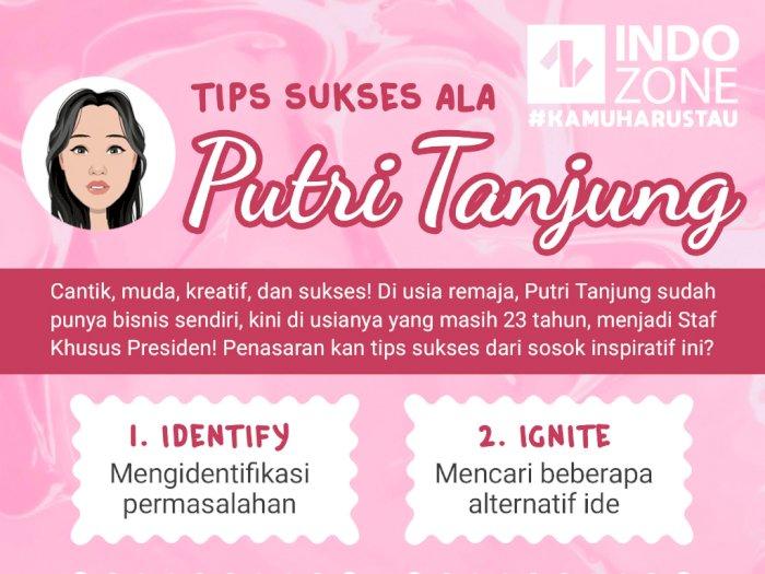 Tips Sukses Ala Putri Tanjung