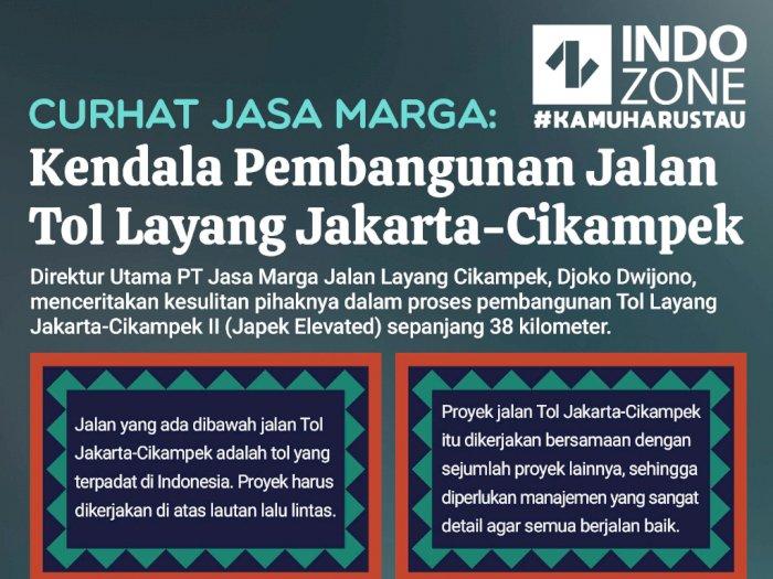 Curhat Jasa Marga Kendala Pembangunan Tol Layang Jakarta-Cikampek