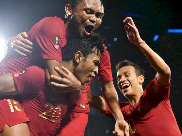 Timnas Indonesa VS Laos: Skuat Merah-Putih Unggul 1-0 di Babak Pertama