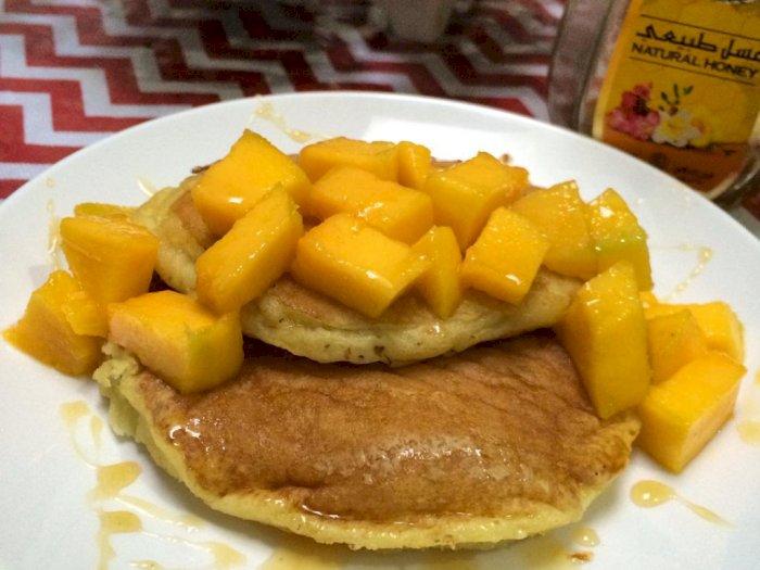 Pancake Mangga, Santapan Manis Nan Legit, Begini Resepnya