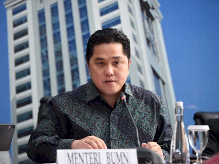 Menko Luhut Dukung Erick Thohir 'Bersih-bersih' Garuda Indonesia