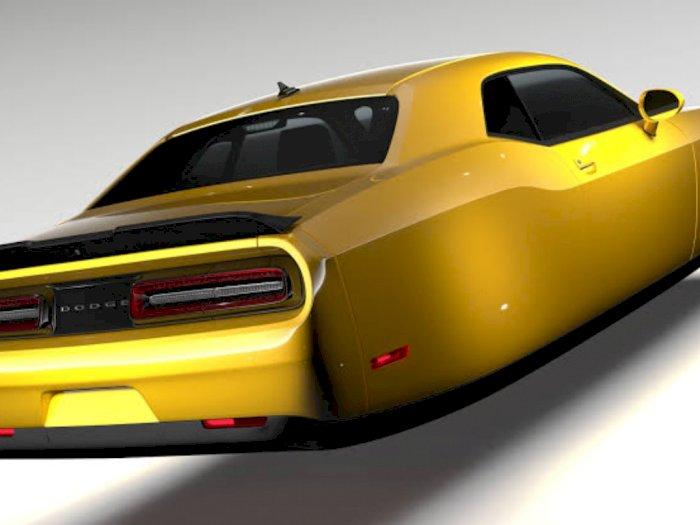 Inilah Desain Tampilan Mobil Terbang Berbasis Dodge