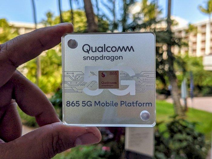 Chipset Snapdragon 865 Dukung Kecepatan Download Hingga 7,5Gbps