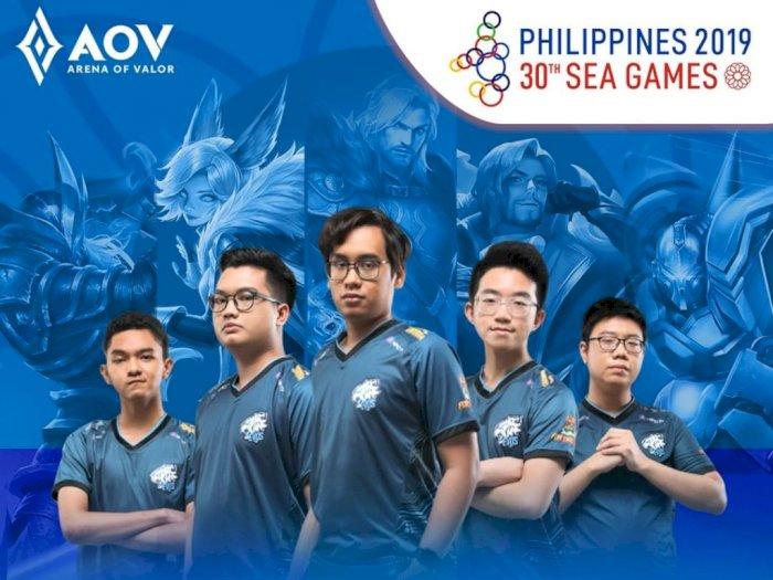 Tim AOV Indonesia Optimis Rebut Emas SEA Games 2019