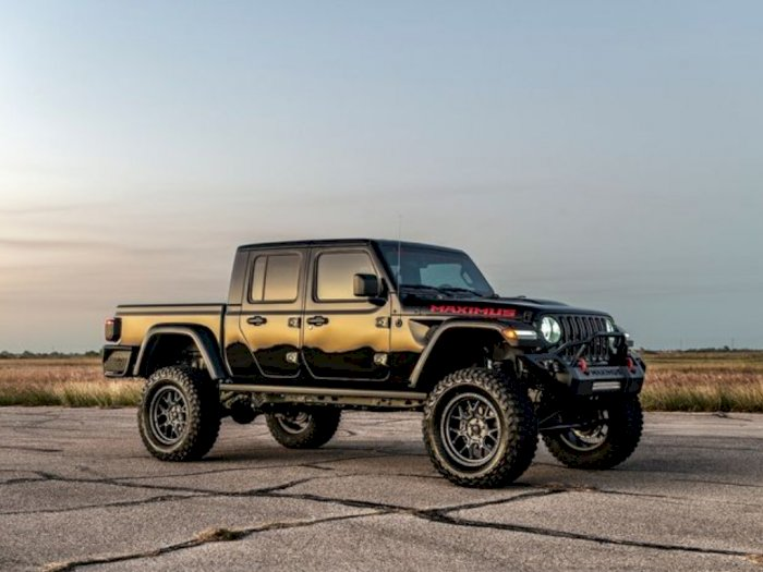 Tampilan Sangar Serta Penyuntikkan Tenaga Pada Jeep Gladiator