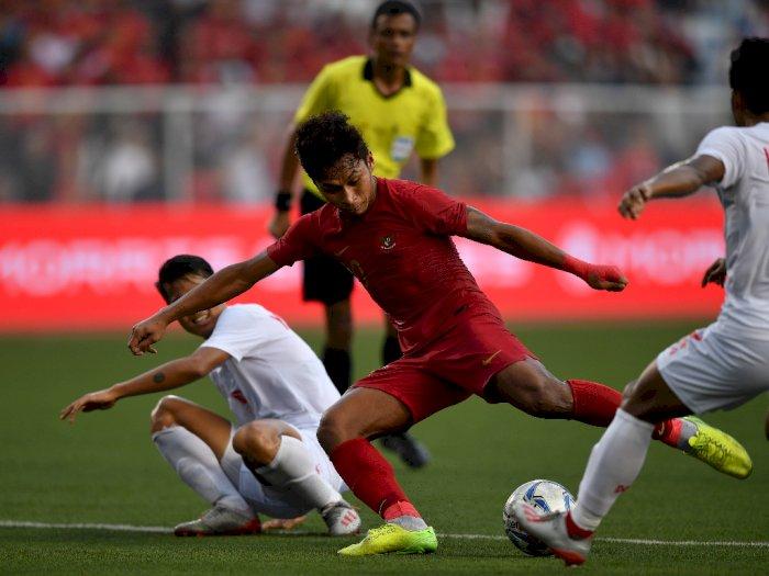 Lewat Extra Time, Indonesia Taklukkan Myanmar 4-2