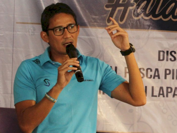 Sandiaga Uno Dukung Erick Thohir Benahi Manajemen Garuda Indonesia
