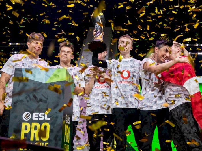 Babat Habis Fnatic, Mousesports Juarai ESL Pro League Season 10