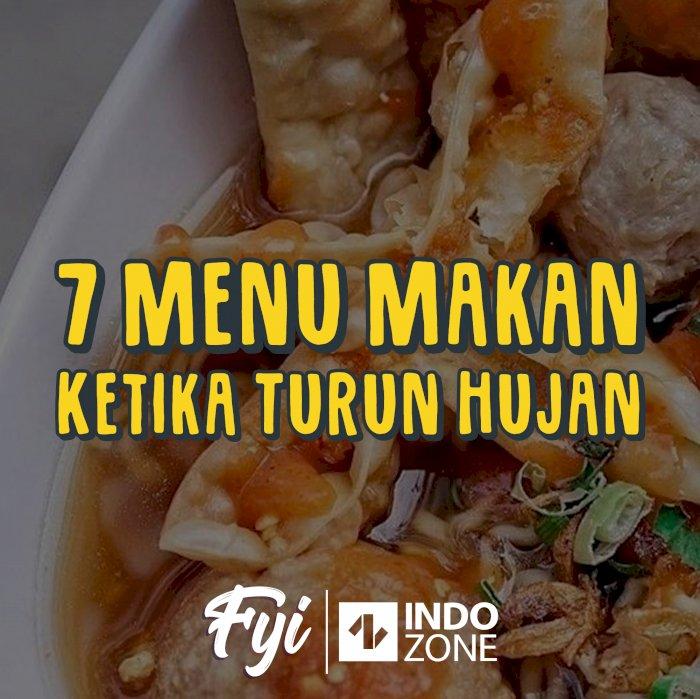 7 Menu makanan Ketika Turun Hujan