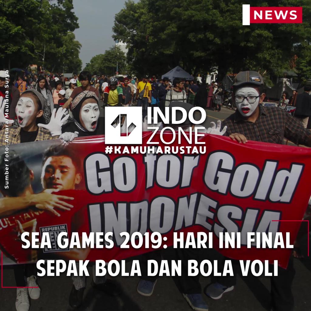 SEA Games 2019: Hari Ini Final Sepak Bola dan Bola Voli