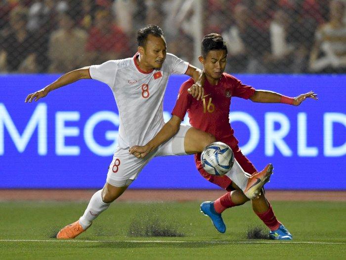 Babak Pertama, Timnas U-23  Indonesia Tertinggal 1-0