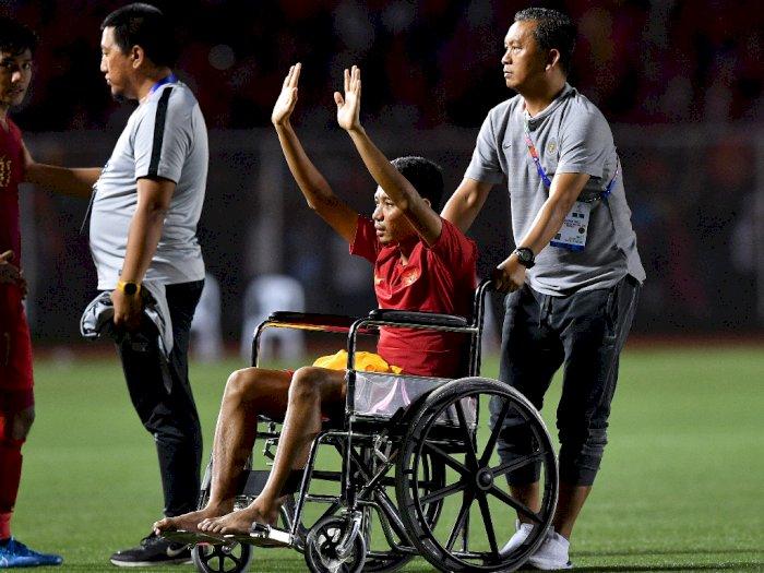 Maafkan Bek Vietnam, Evan Dimas: Harus Disyukuri