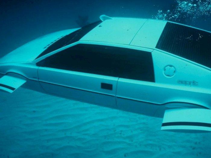 Lotus Esprit, Mobil Kapal Selam yang Hadir Dalam Film James Bond