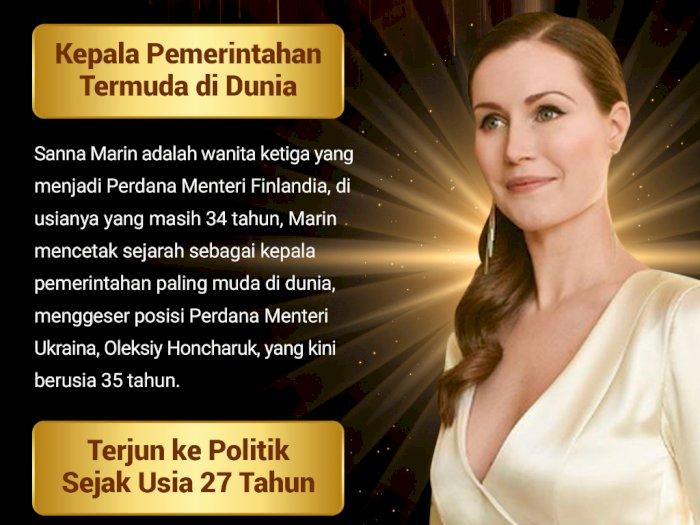 Sanna Marin, Perdana Menteri Termuda di Dunia
