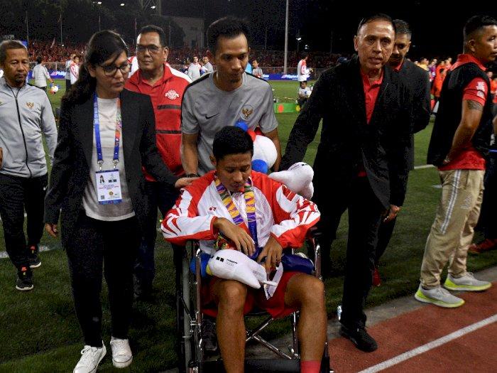 Iwan Bule Duga Bek Vietnam Sengaja Mencederai Evan Dimas