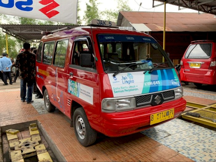 Bantu Peremajaan, Suzuki Servis Gratis 700 Angkot di Jakarta