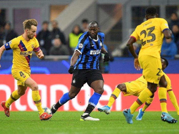 Inter Milan VS Barcelona: Kedua Tim Sama Kuat di Babak Pertama
