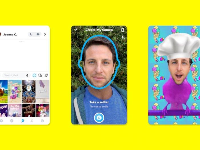 Cameos, Fitur Terbaru Snapchat yang Bisa Ubah Foto Jadi Video