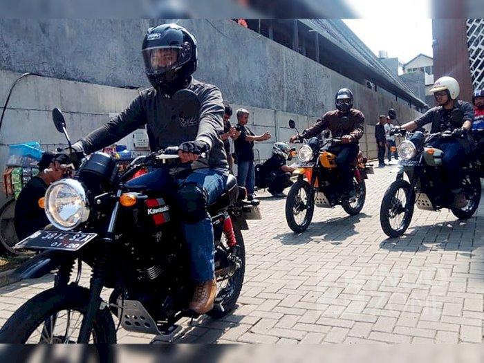Test Ride Kawasaki W175TR: Enak Lahap Aspal Maupun Tanah Kerikil