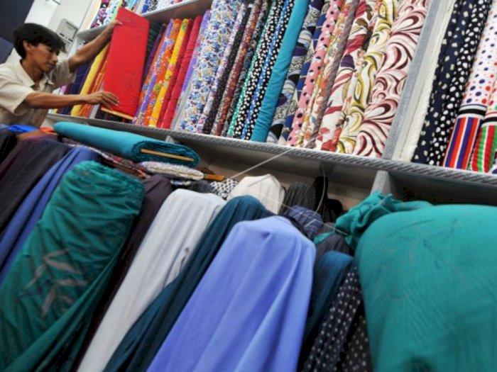 Pasar Tanah Abang Dijajah Tekstil Asing
