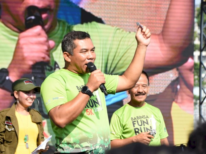 HUT ke-70, Kodam Jaya Gelar 'Jayakarta Loe Gue Run 2020'