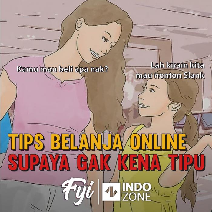 Tips Belanja Online Supaya Gak Kena Tipu