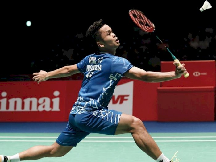 Anthony Ginting Sikat Chen Long di BWF World Tour Finals