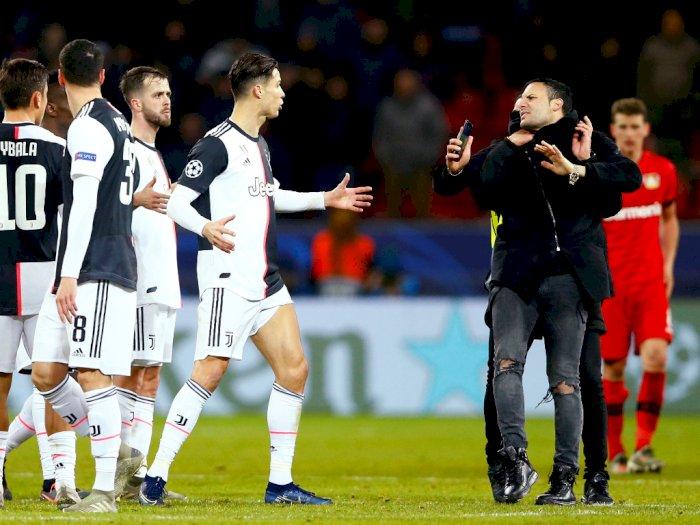 Diganggu Fans Sampai Tiga Kali, Ronaldo Ngamuk