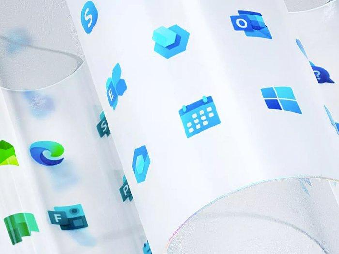 Microsoft Pamerkan Desain Logo Baru untuk Aplikasi di Windows