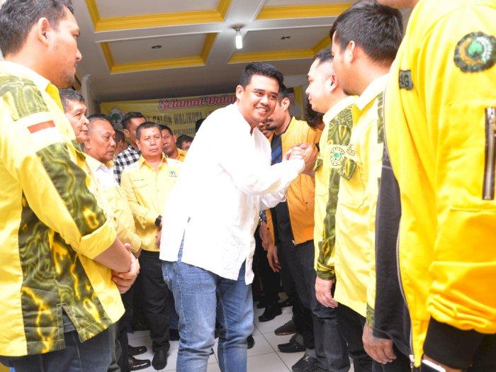 Bobby Nasution Maju Pilkada Medan Lewat Partai Golkar