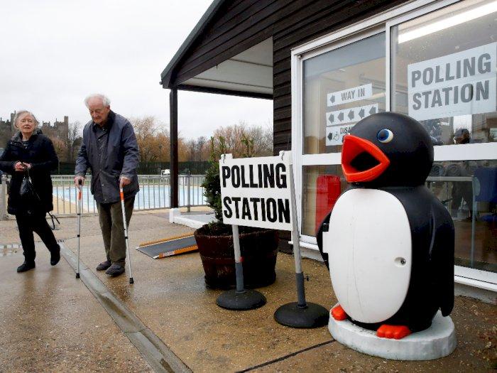 FOTO: Melihat Suasana Pemilu di Inggris