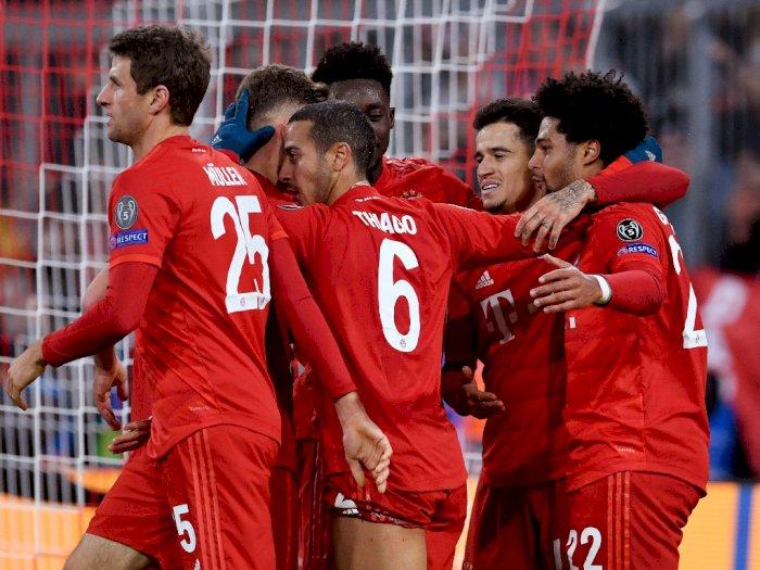 Bayern Munich Jadi Pemenang Grup Terbaik Dalam Sejarah Liga Champions