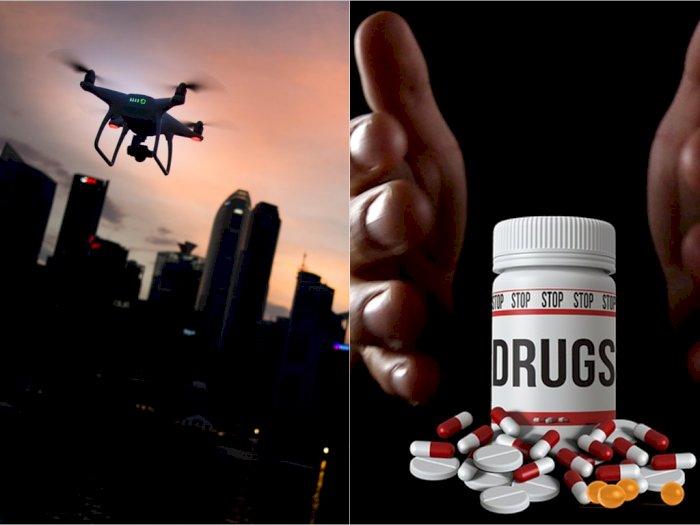 Penyelundupan Narkoba ke Lapas dan Rutan Kini Pakai Drone