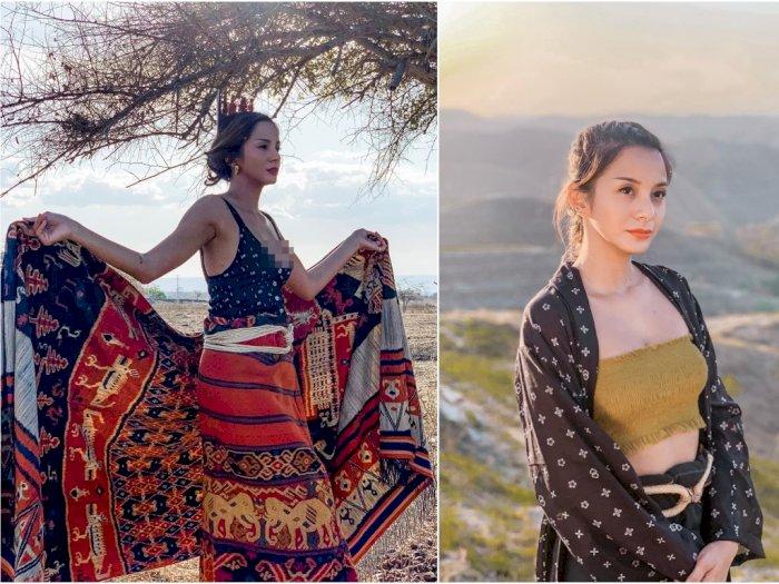 Eksplorasi Sumba, Ini 5 Potret Cantik Kirana Larasati