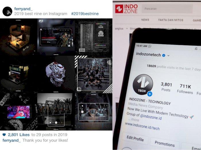 Jelang Akhir Tahun Ini Cara Buat Instagram Best Nine Untuk Tahun 2019 Indozone Id