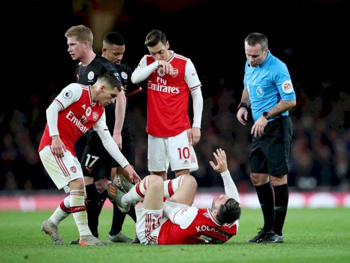 Babak Pertama, Arsenal Tertinggal 3 Gol dari Manchester City