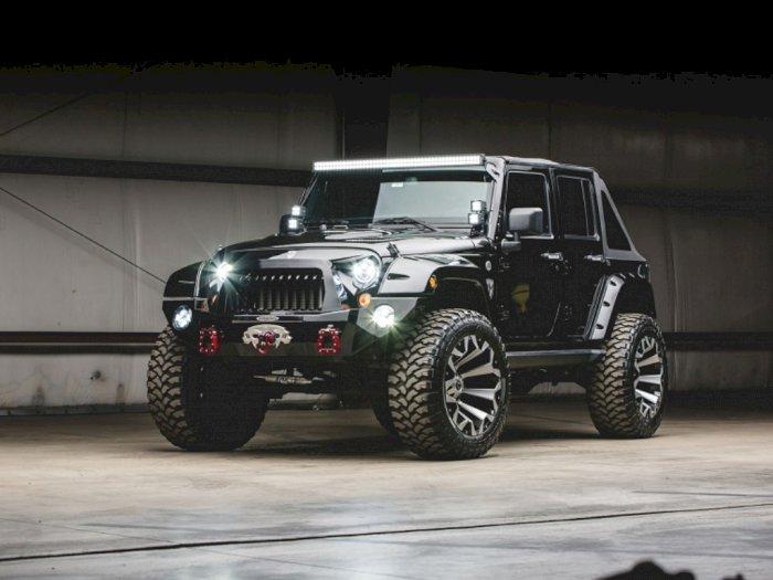 Jeep Modifikasi 700 Jutaan Ini Tampil Agresif