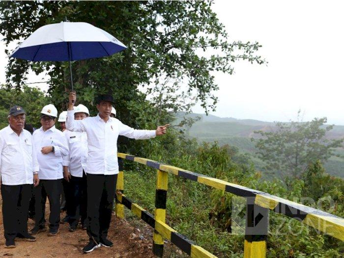 Presiden Tinjau Lokasi Ibu Kota, Letak Istana Negara belum Ditentukan