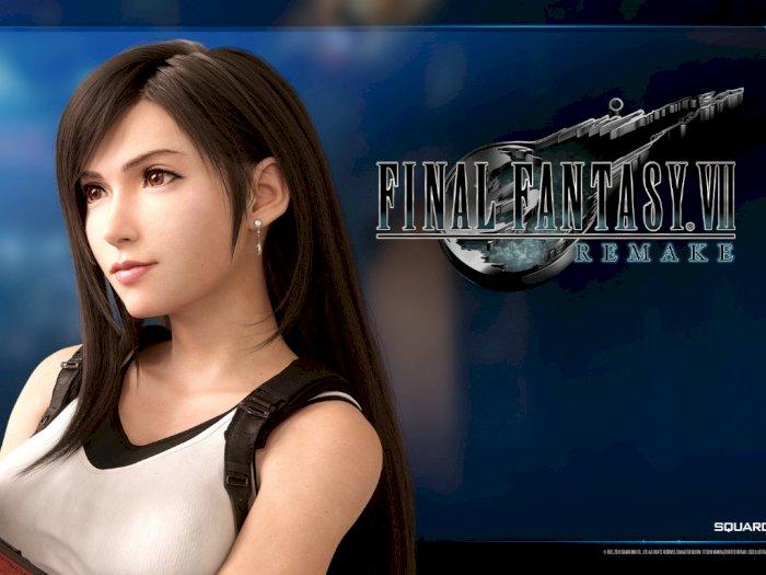Square Enix Beri Wallpaper Tifa Lockhart dari Final Fantasy VII Remake