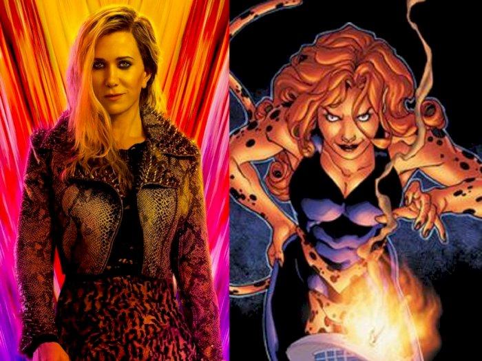 Patty Jenkins Perkenalkan Kristen Wiig sebagai Musuh Wonder Woman