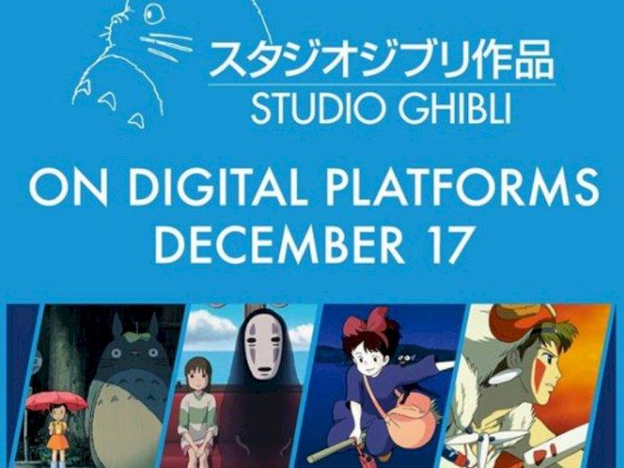 Sekarang, Film dari Studio Ghibli Dapat Dibeli secara Digital