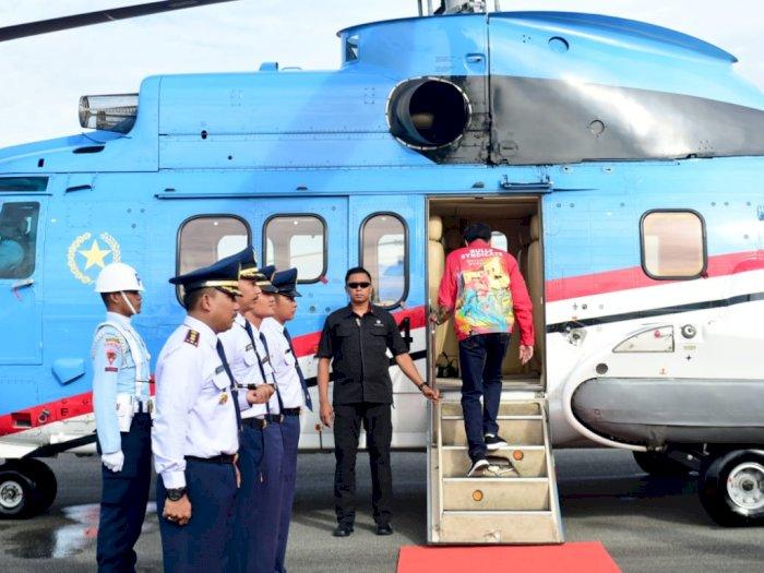 Jokowi Tinjau Jalan Perbatasan dan Potensi Hydro Power di Kaltara