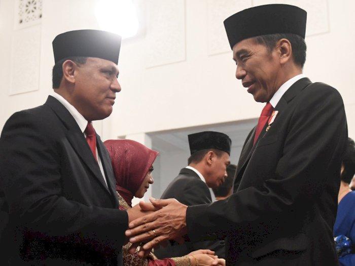 FOTO: Presiden Jokowi Lantik Pimpinan dan Dewan Pengawas KPK