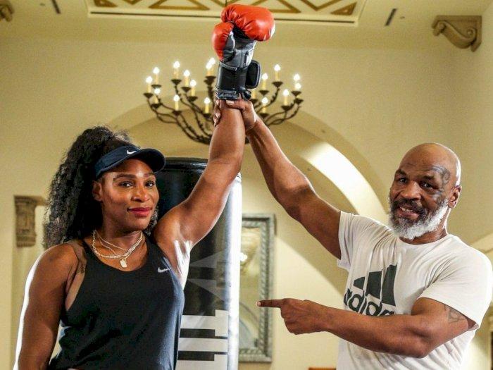 Serena Williams Nikmati Preseason dengan Latihan Tinju
