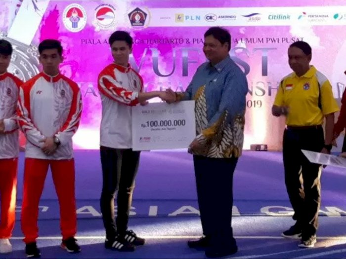 Pasca Raih Emas SEA Games 2019, Edgar Xavier Cs Dapat Tambahan Bonus