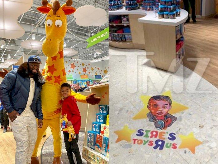 Demi Anak, Rapper 50 Cent Rela Sewa Toko Mainan