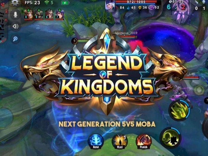 Legend of Kingdoms, Game MOBA Mobile Baru dari Megaxus