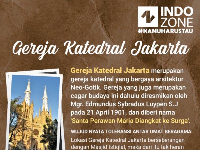 Ini Sejarah Berdirinya Gereja Katedral Jakarta Indozone Id