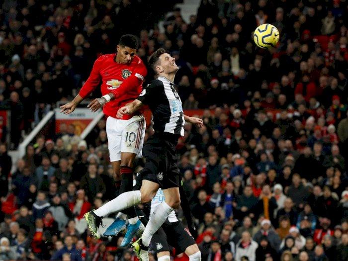 Cetak Gol dari Lompatan, Rashford Terobsesi dengan Gol Ronaldo